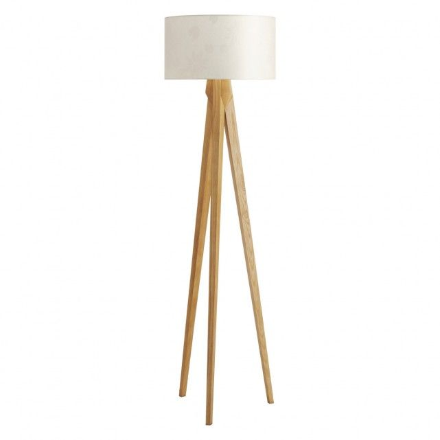 Beautiful TRIPOD Ash wooden tripod floor lamp base wooden tripod floor lamp