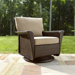 A perfect patio glider