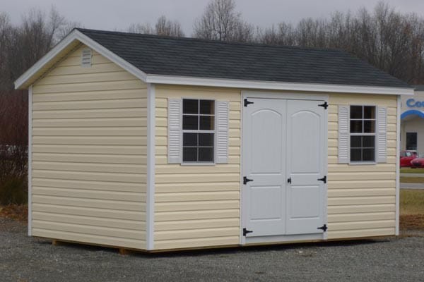 Beautiful vinyl outdoor storage shed outdoor storage sheds