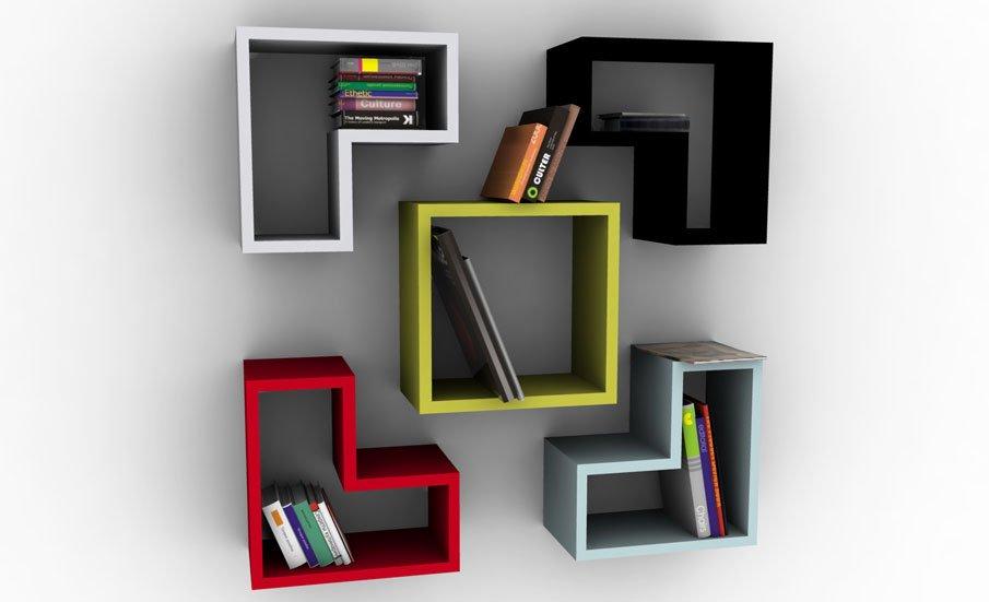 Best 20 Creative Bookshelves: Modern and Modular modern bookshelf design
