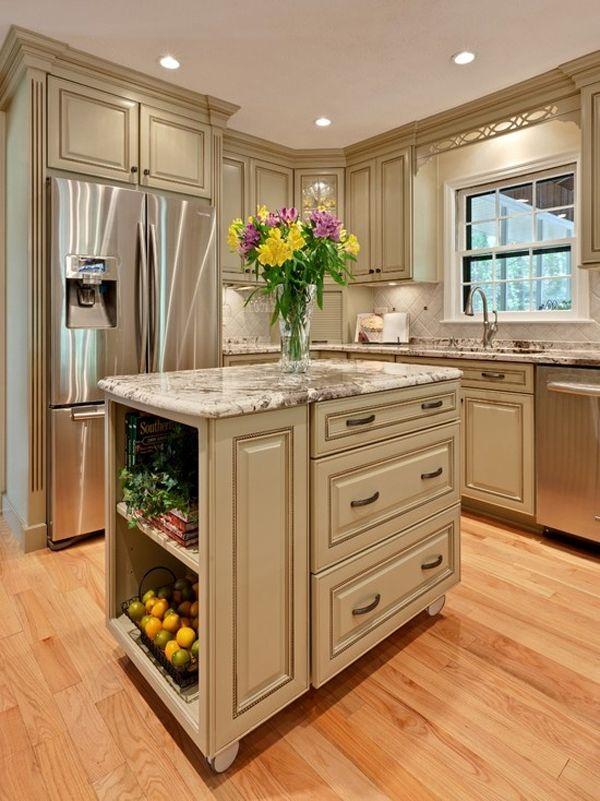 Best 48 Amazing space-saving small kitchen island designs kitchen designs with islands for small kitchens