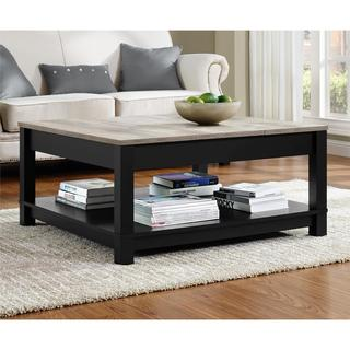 Best Ameriwood Home Carver Coffee Table square living room table