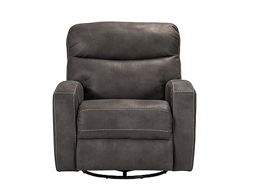 Best Auden Microfiber Swivel Glider Power Recliner swivel recliner chairs