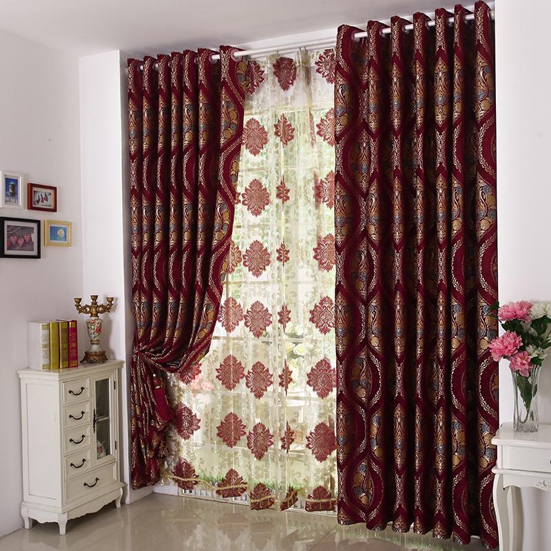 Best Chenille Floral Pattern Curtains Vintage Curtains floral pattern curtains
