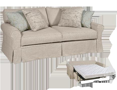 Best Daniel Collection - Sleeper Sofa 40020 Sofa Fabric Shown:Belgium Oatmeal  Throw Pillows: linen sleeper sofa