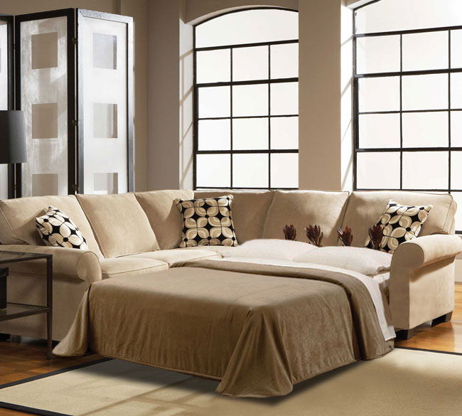 Best Ethan 6627 Sleeper Sectional Customize - 350 Fabrics sectional sleeper sofa