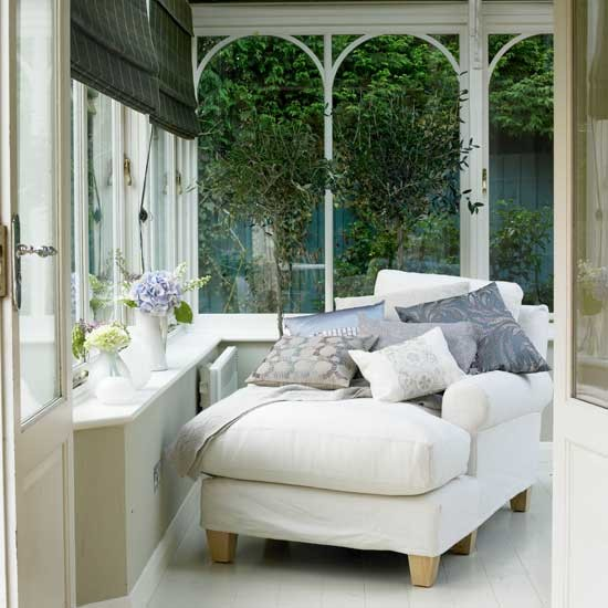 Best Even if there is only room for one comfy chair, make the conservatory small conservatory furniture ideas