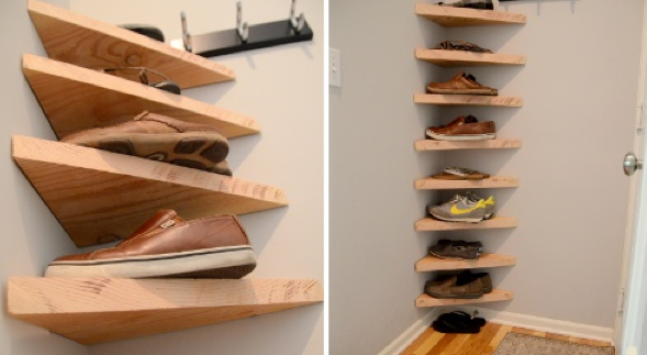 Best Hidden shoe storage for small spaces 2 shoe racks for small spaces