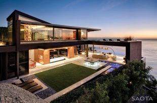 Contemporary Modern home with the ocean view best house designs