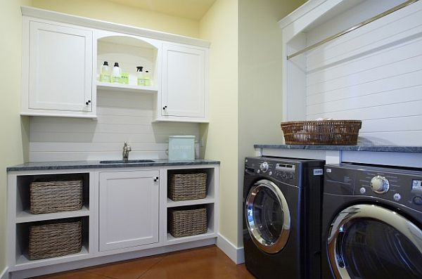 Best Image of: Laundry Room Storage Visbeen Associates laundry room storage cabinets
