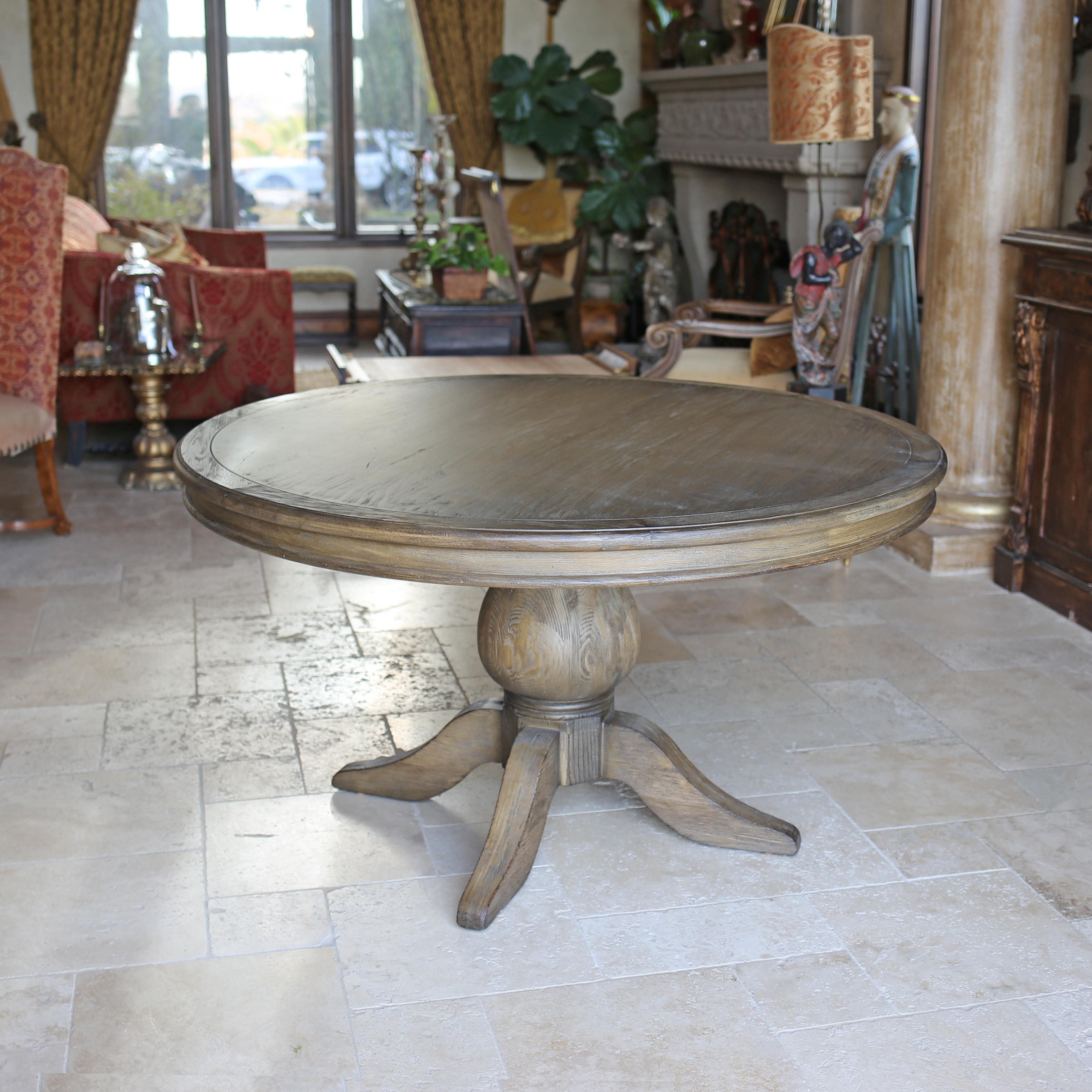 Best Kovet Hospitality Florence Reclaimed Wood Round Dining Table reclaimed wood round dining table