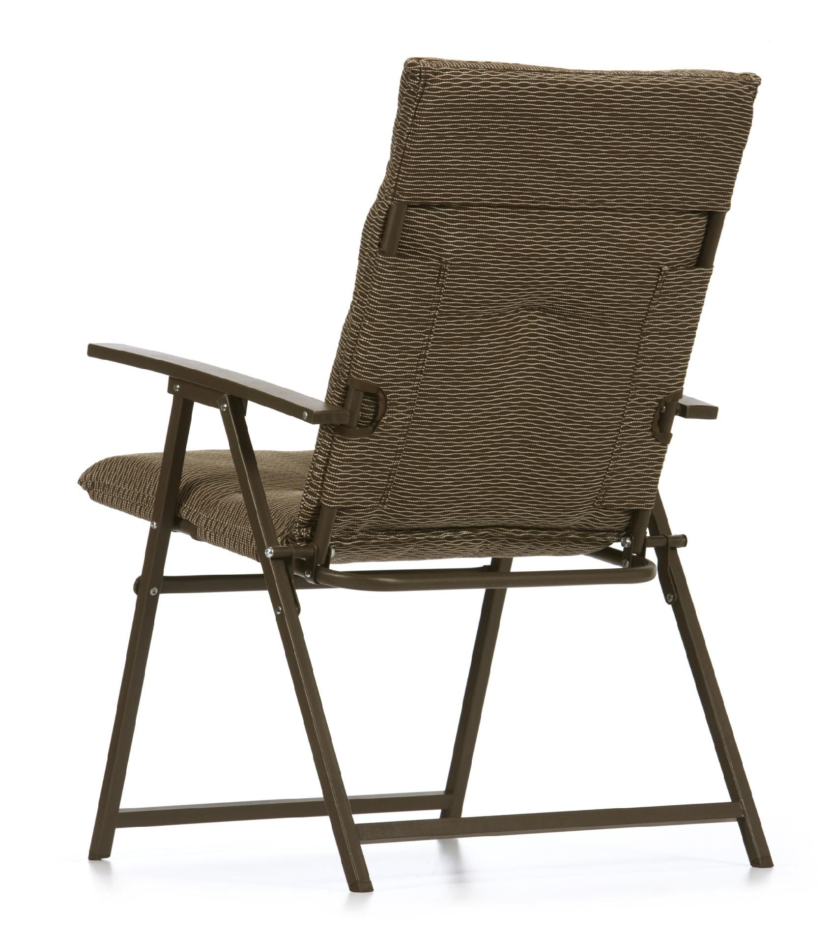Best La-Z-Boy Outdoor Alex Padded Folding Chair 2 padded folding patio chairs