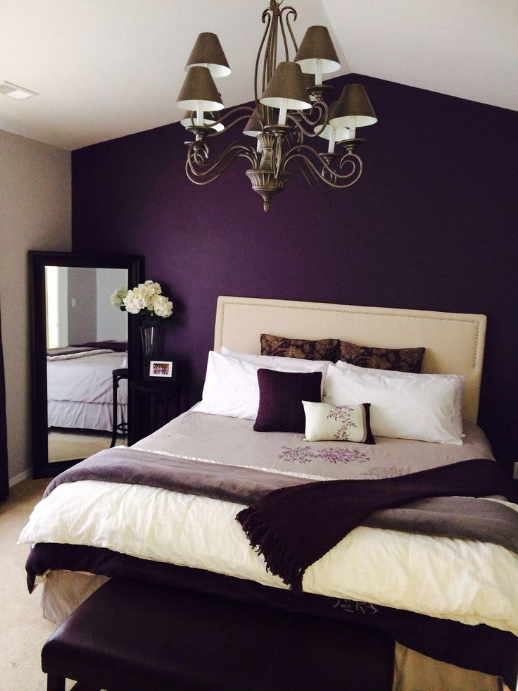 Best Latest 30 Romantic Bedroom Ideas to make the Love Happen purple bedroom decor ideas