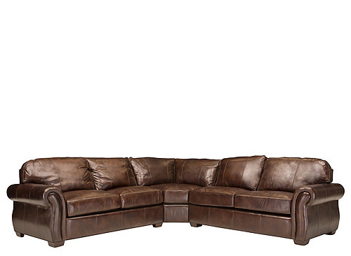 Best Leather Sectional Sofa w/ Full Sleeper - Chocolate | Raymour u0026 Flanigan leather sectional sleeper sofa
