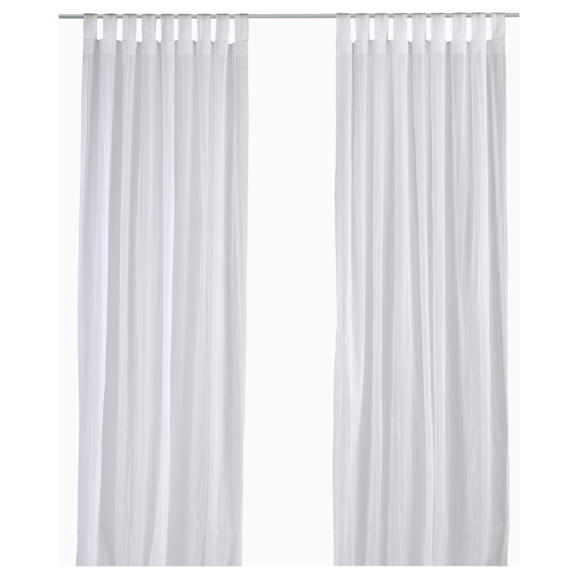Best MATILDA Sheer curtains, 1 pair - IKEA white sheer curtains