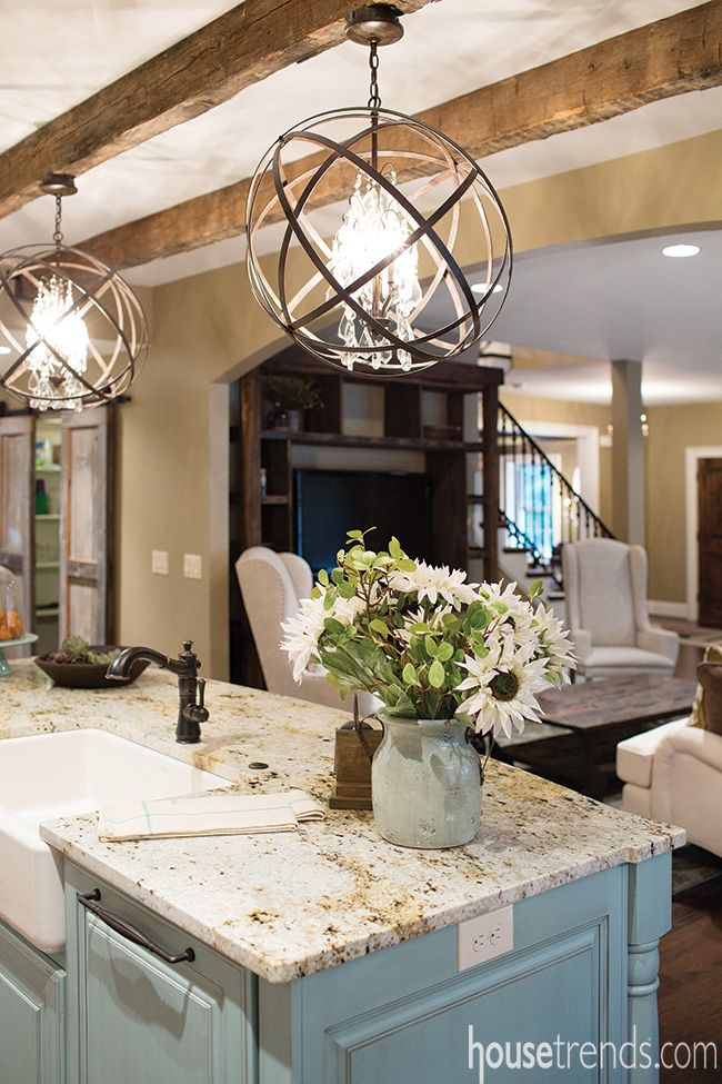 Best One of the hottest lighting trends today, orbital pendants are showing up kitchen island light fixtures