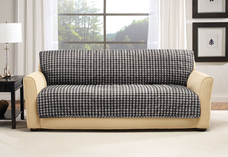 Best Photo of Deluxe Armless Furniture Cover. View Larger. image description;  image armless sofa slipcover