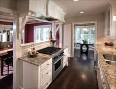 Best Remodel kitchen to open up a galley style. open concept galley kitchen designs