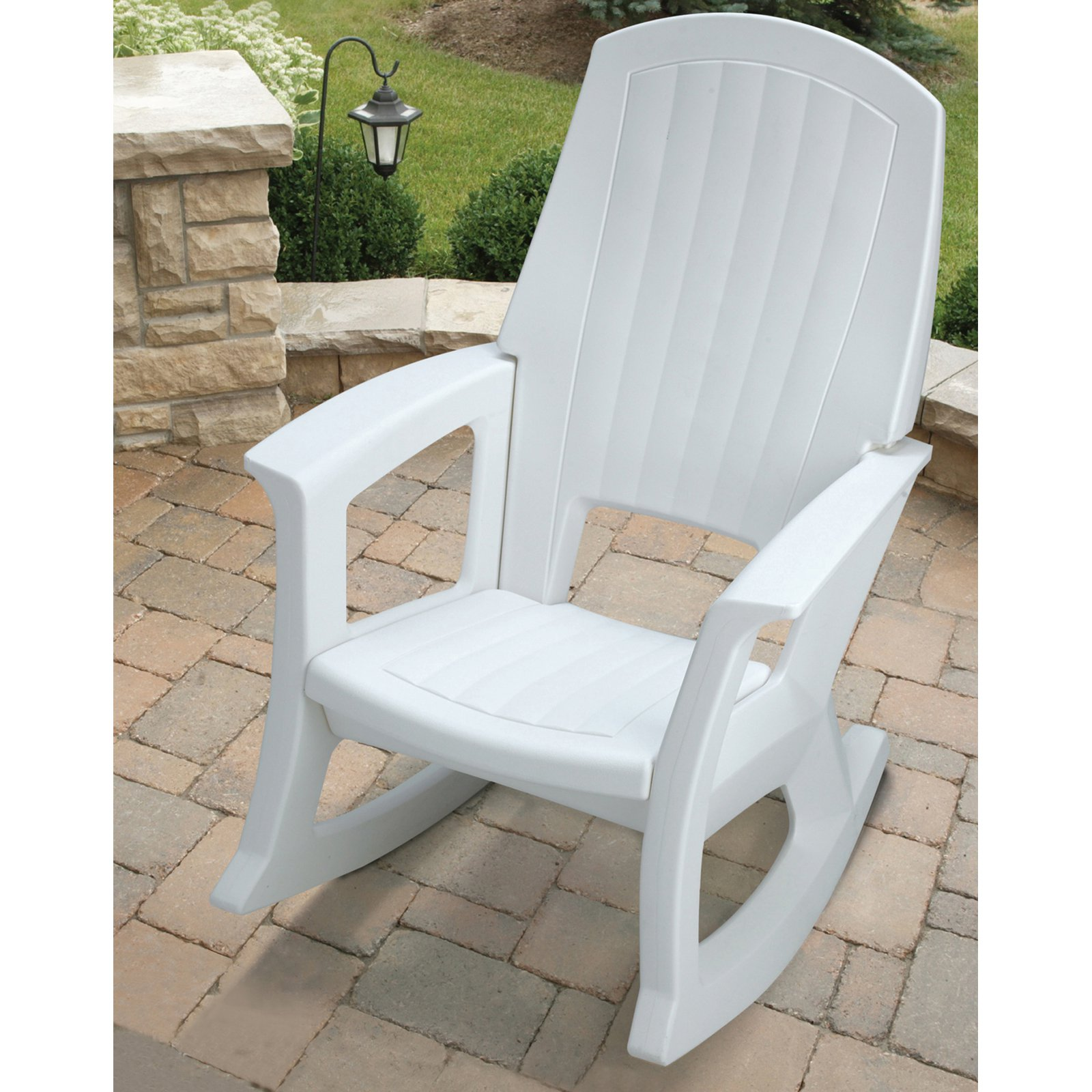 Best Semco Recycled Plastic Rocking Chair - Outdoor Rocking Chairs at Hayneedle plastic rocking chair