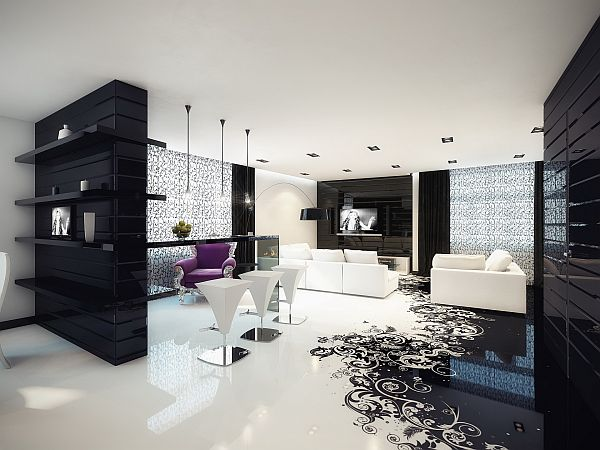 Unlock the beauty with Black and whitedecor of your bedroom