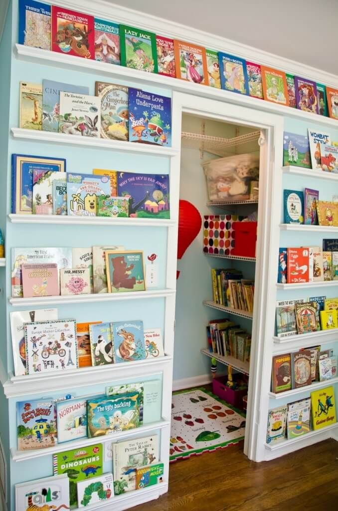 Unique Awesome Kids Playrooms. Playroom Ideas ... book storage ideas for kids room
