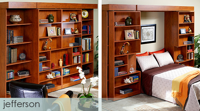 Master 17 Best Images About Murphy Beds Wall On Pinterest Low bookcase wall bed
