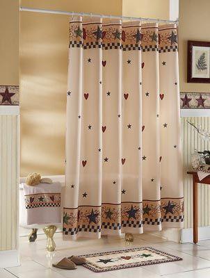 Chic 25+ best ideas about Primitive Shower Curtains on Pinterest | Primitive  decor, rustic country shower curtains