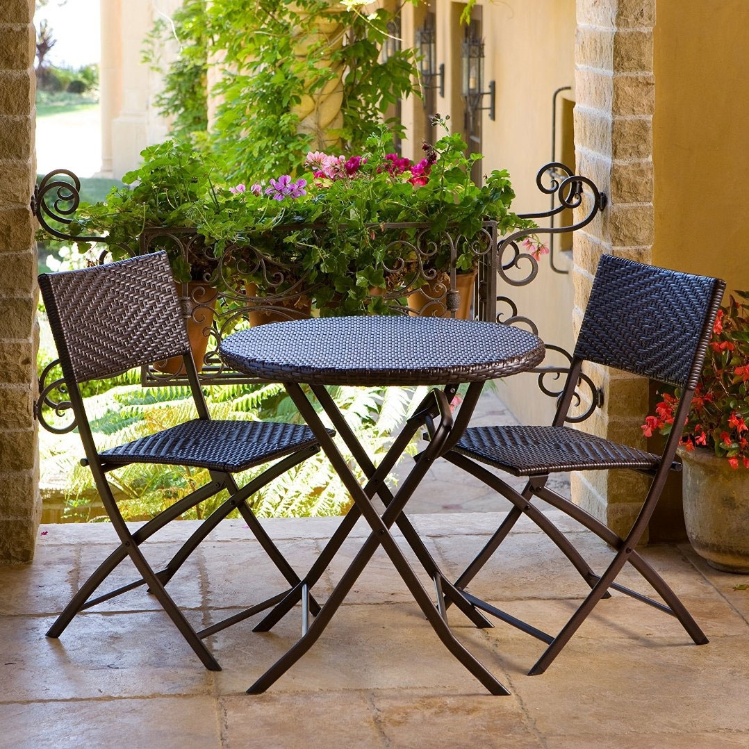 Enjoy Your Outdoor Parties With Bistro Sets