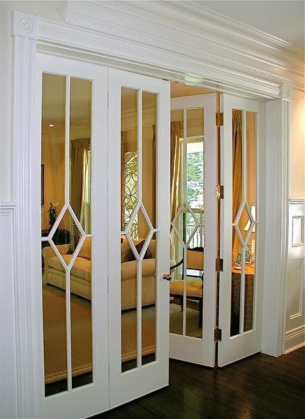 Chic armarios con espejos Perfection!!! Add mirrors to closet doors and make  this replacement mirror wardrobe doors