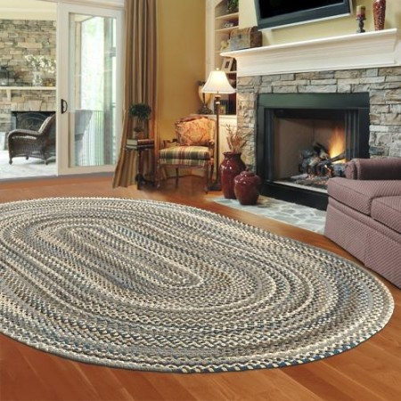 Chic As far as cleaning goes these rugs are easy to maintain and braided area rugs