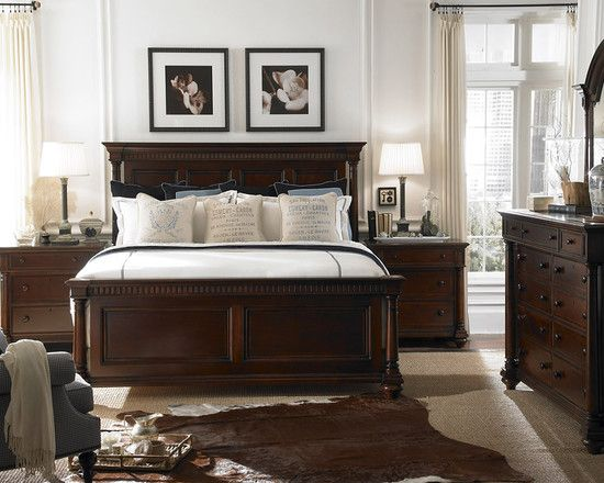 Chic Bedroom Dark Brown Furniture Design, Pictures, Remodel, Decor and Ideas -  page master bedroom furniture designs