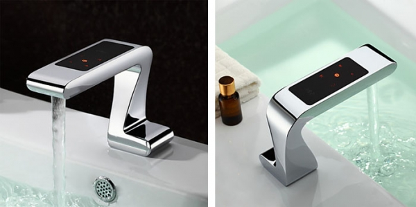 Chic cool and modern bathroom sink faucets adorable home modern faucets for bathroom sinks