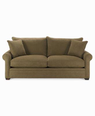 Chic Dial Fabric Microfiber Queen Sleeper Sofa Bed microfiber sleeper sofa
