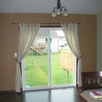 Through patio curtains, you can decorate your home