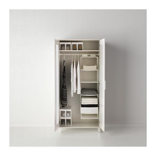 Chic IKEA ANEBODA wardrobe Adjustable hinges ensure that the doors hang straight. ikea aneboda wardrobe armoire white