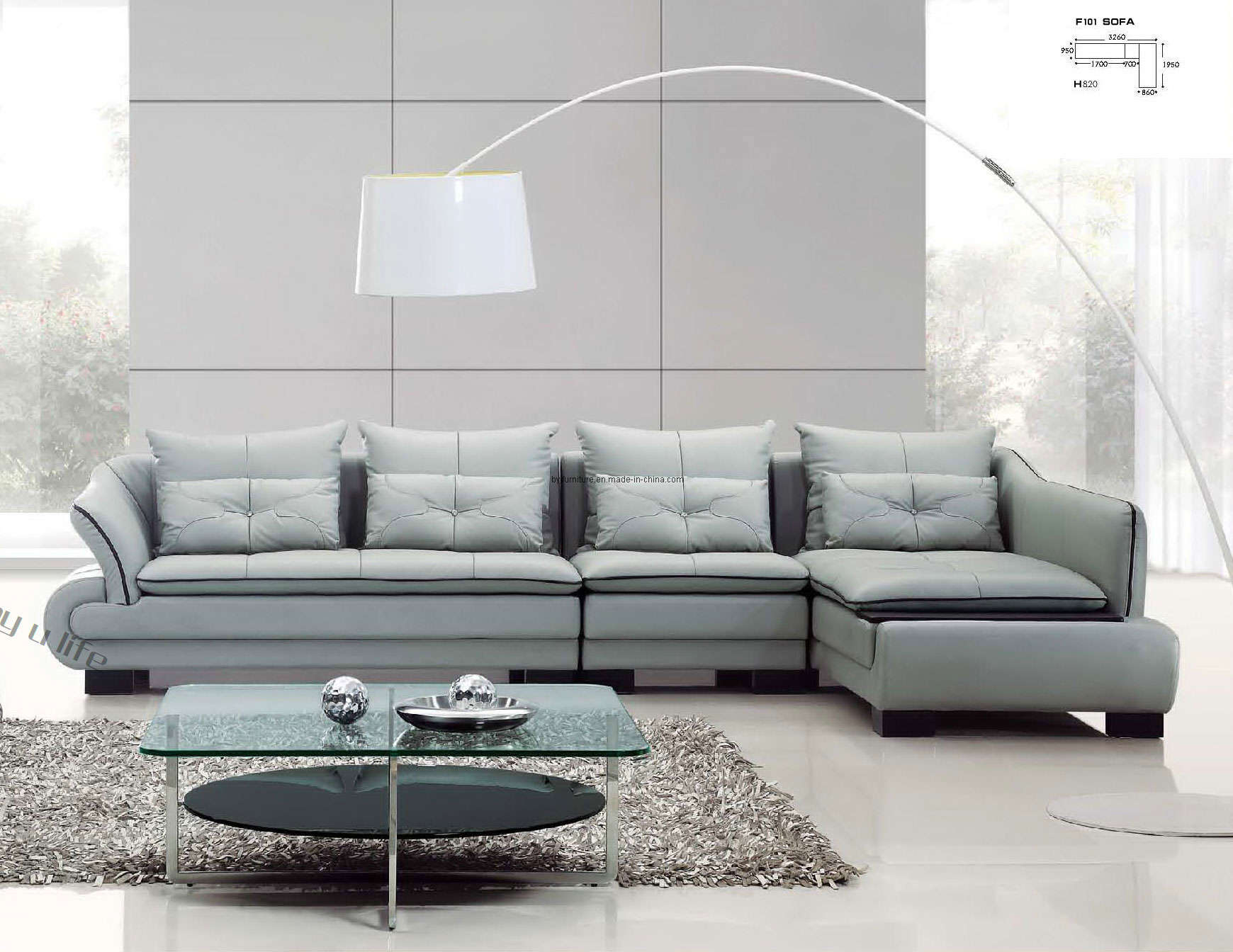 Chic ... Leather Sectonal On LIVING ROOM, Blu Dot Sleeper Sofa Furniture For contemporary leather sofa sets