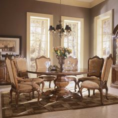 Chic May 9th, 2017. Posted in: Dining Table formal round dining room sets