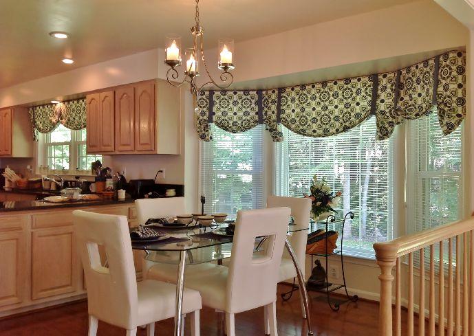 Chic modern-kitchen-curtains-and-valances kitchen curtain valances