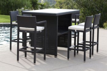 Chic Outdoor Furniture Sets - Outdoor Bar Sets - Babmar - Vertigo Bar Set outdoor bar furniture sets