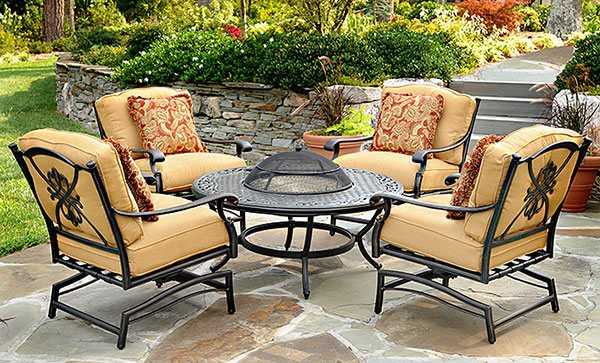 Chic Outdoor Patio Furniture Chairs Tables Dining SetsHousewarmings agio patio furniture