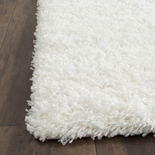 Chic Safavieh California Cozy Soft Milky White Shag Rug by Safavieh white shag area rug