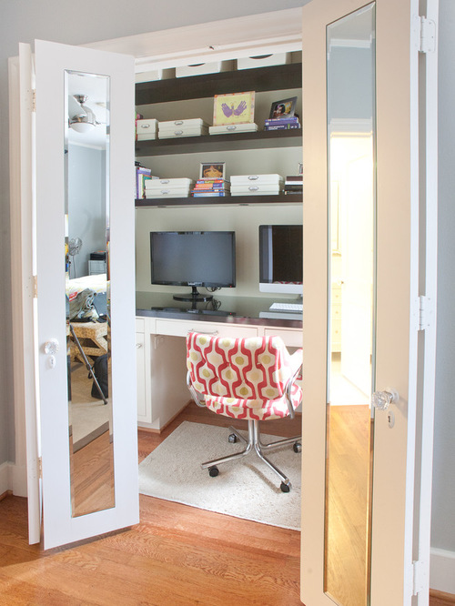 Chic SaveEmail mirrored bifold closet doors