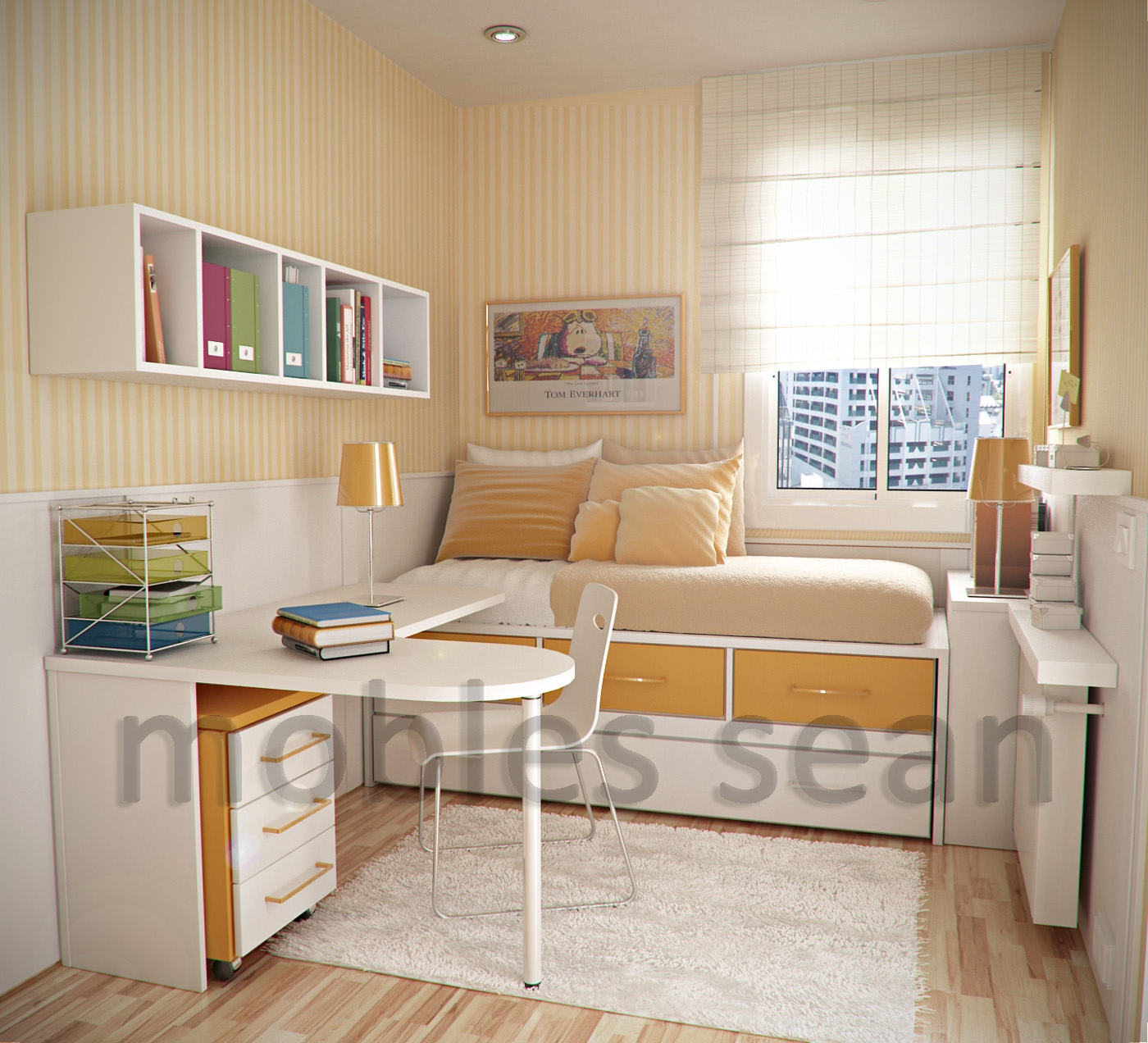 Chic Space-Saving Designs for Small Kids Rooms childrens bedroom ideas for small bedrooms
