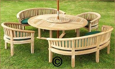 Chic Wooden garden furniture quality wooden garden furniture