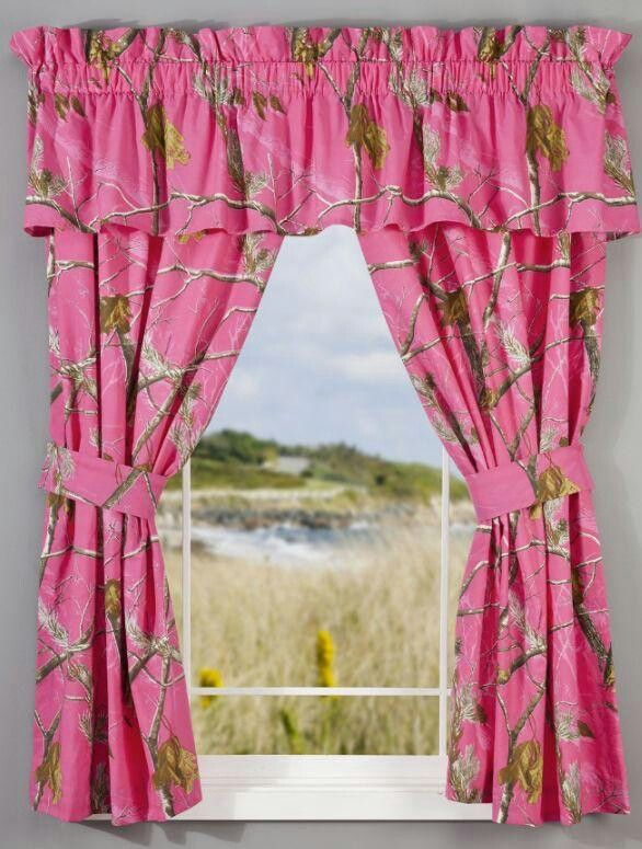 Chic ... x 775 ... pink camo curtains