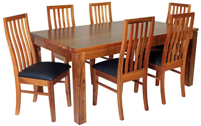 Best Dining Settings classic timber furniture
