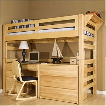 Master Loft Beds, Bunk Beds, u0026 Furniture college dorm room furniture