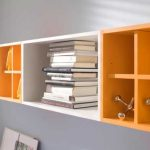 Utilise small places by using wall storage