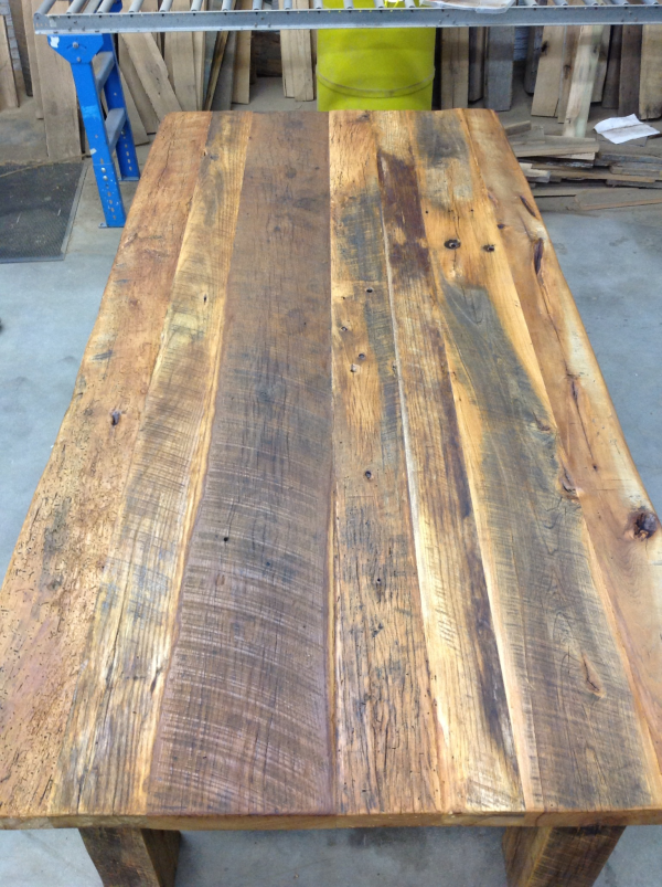 Compact How To Build Your Own Reclaimed Wood Table-DIY Table Kits For Sale. reclaimed wood dining table for sale