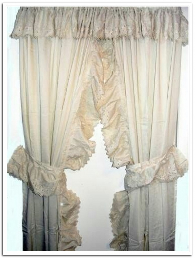Compact Lace Priscilla Curtains With Attached Valance Best Curtains 2017 With  Regard To priscilla curtains with attached valance
